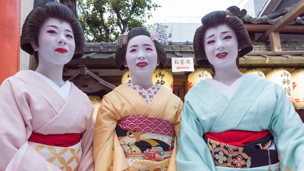 Gejše u Kjotu