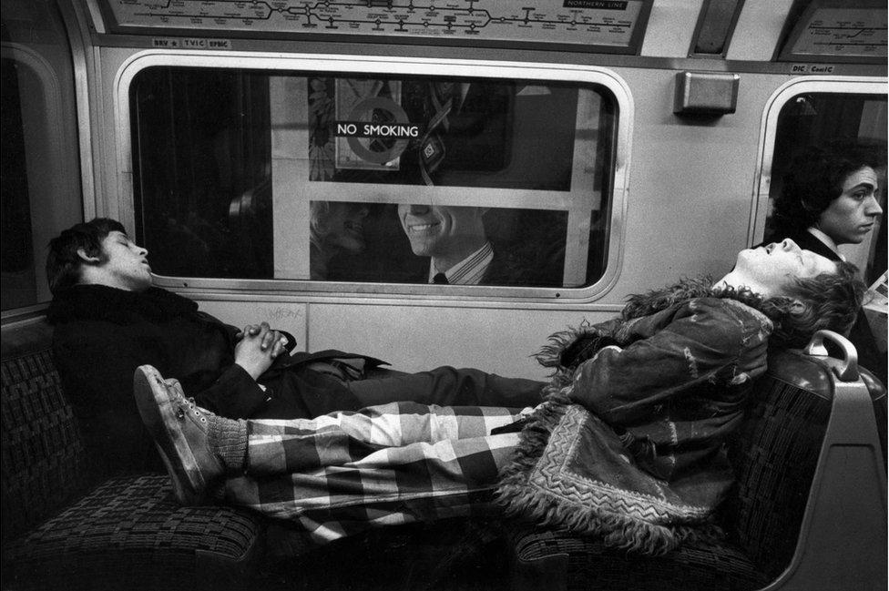 Asleep on the Northern Line, 1975