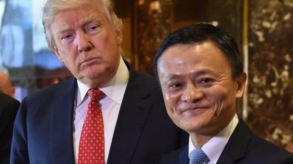 Jack Ma dan Trump