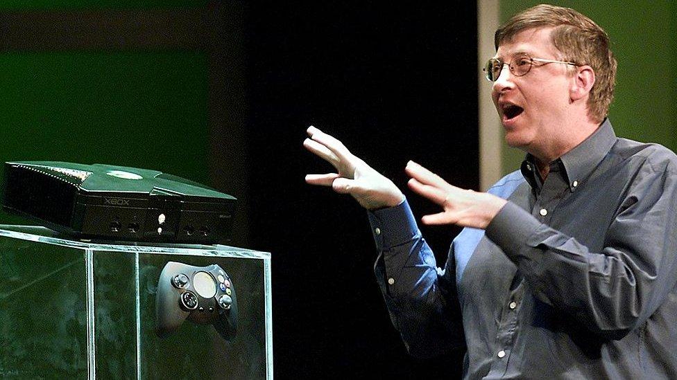 Bill Gates and Xbox
