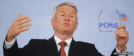 Council of Europe secretary-general Thorbjoern Jagland