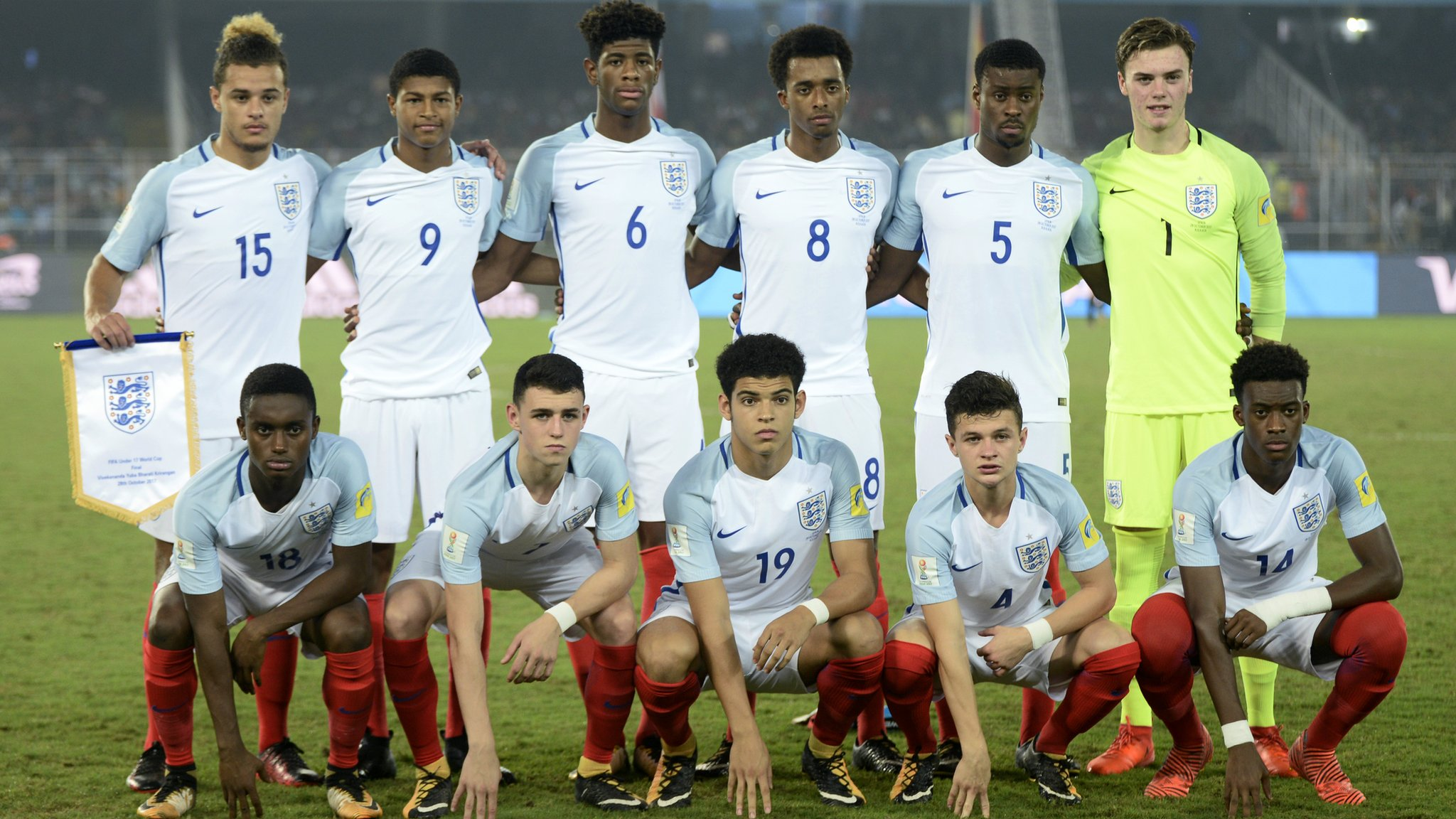 England's U17 World Cup winners - where are they now?