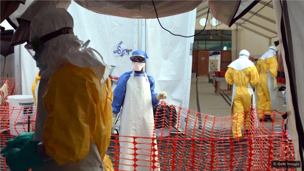 抗埃博拉病毒的疫苗在2014年到16年埃博拉病毒爆發時開始使用,但有關這種病毒的研究早在2003年已開始。