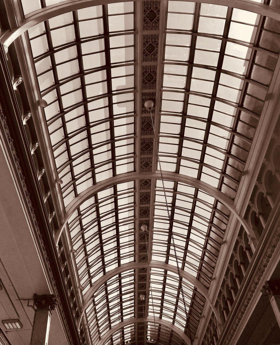 House of Fraser roof