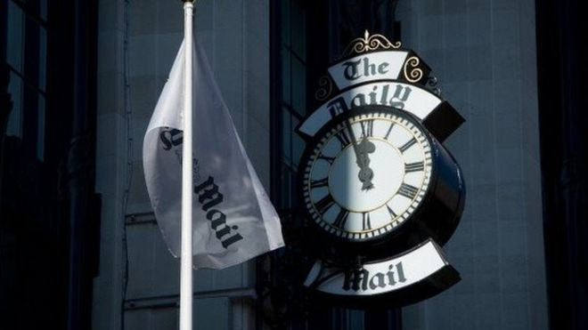 Daily Mail owner DMGT's shares plunge