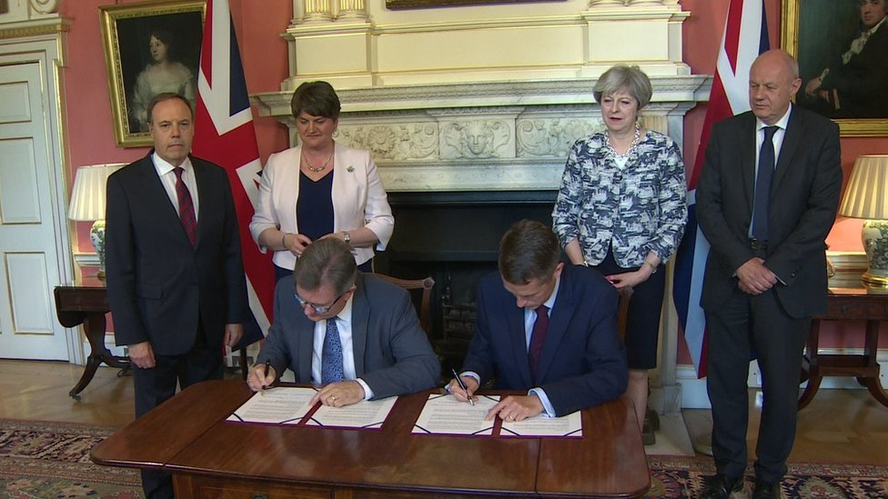 DUP-Tory deal: Is it delivering what it promised?
