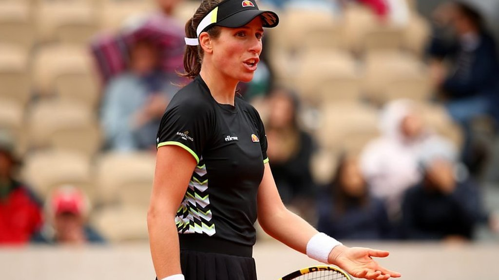 French Open: Johanna Konta says 'scheduling matches is not my job'