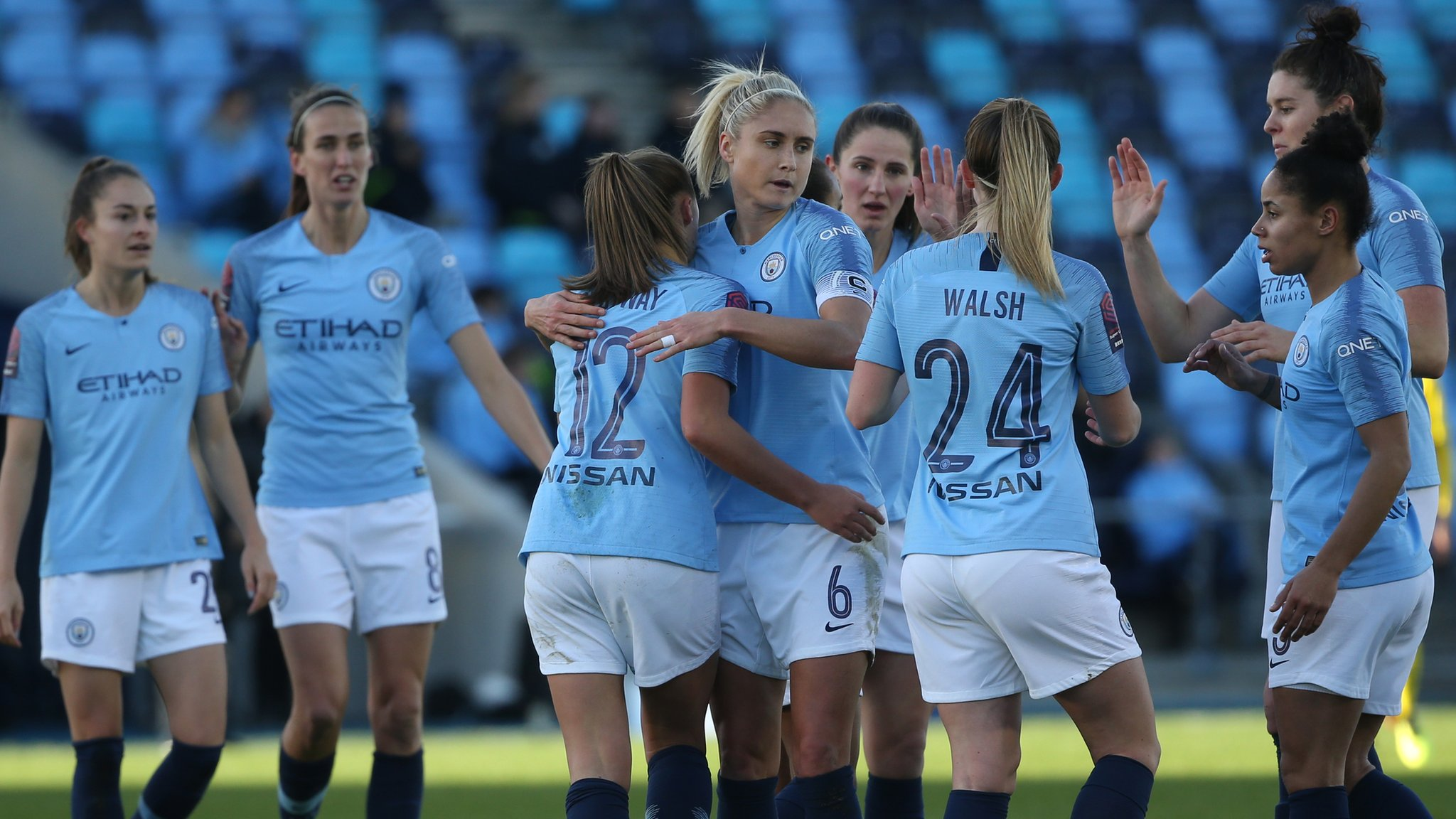 Man City Women edge out Birmingham