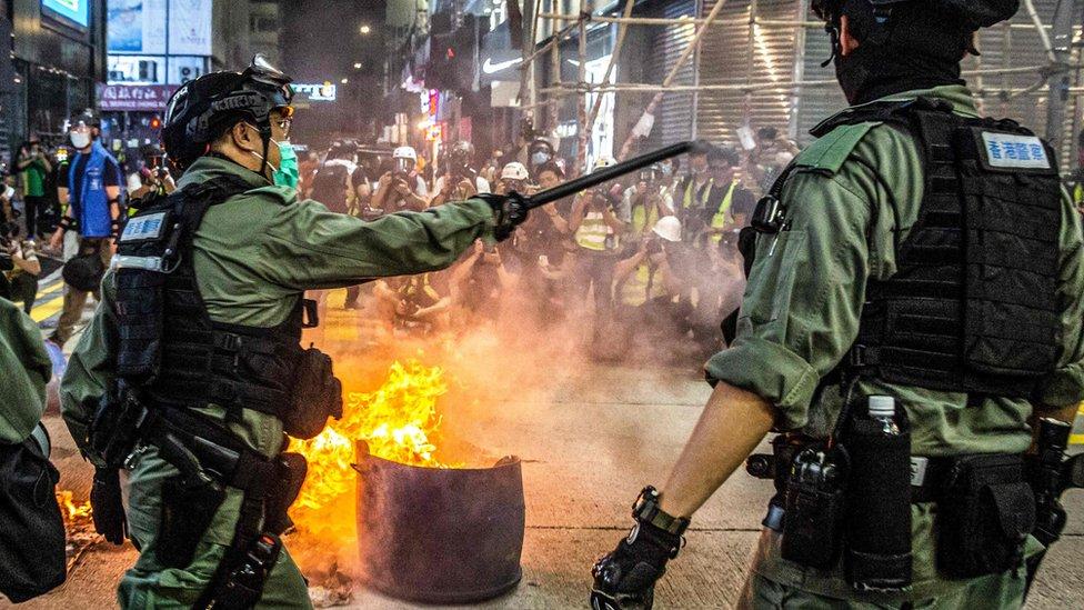 الشرطة في هونج كونغ