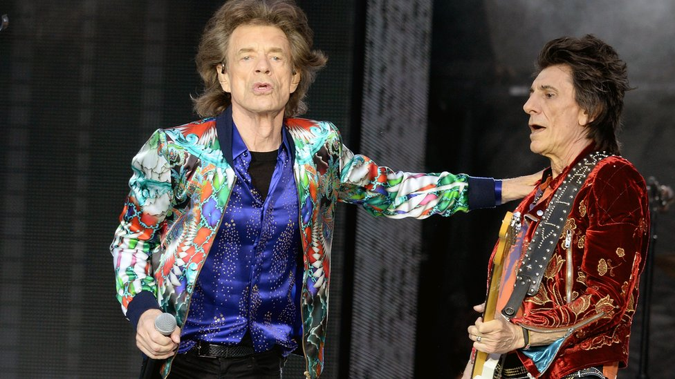 BBC News - Sir Mick Jagger 'doing well' after op