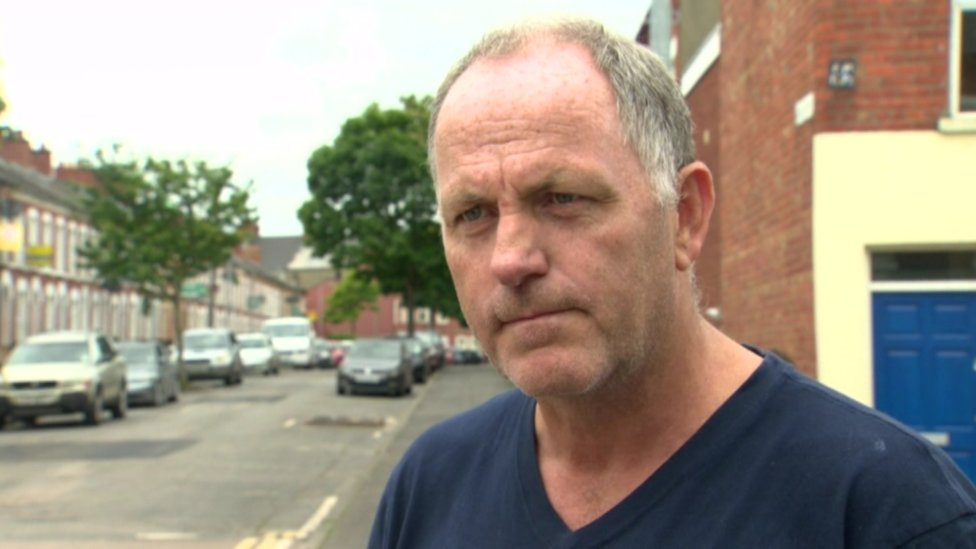 Landlord Michael McMahon believes claims of anti-social behaviour in the area are 'exaggerated'