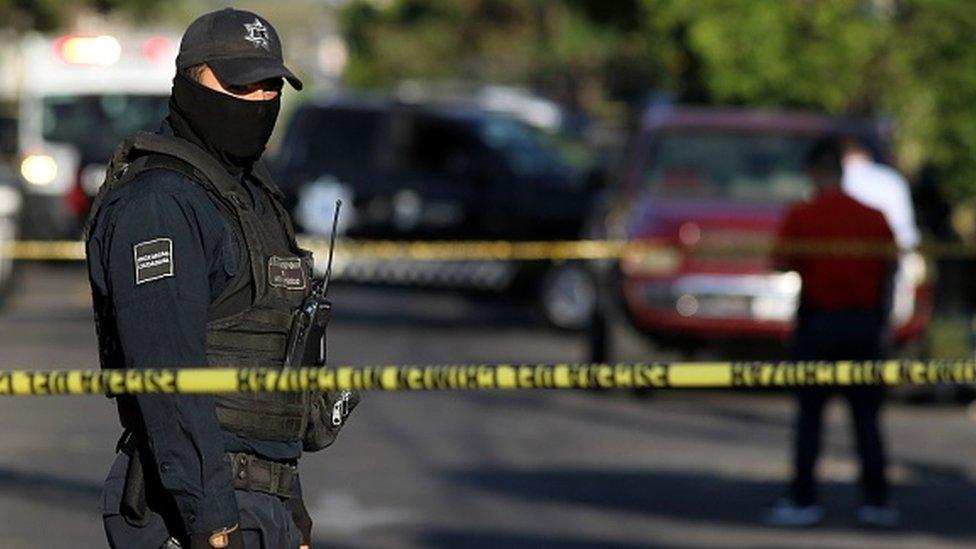 Policijac Meksiko