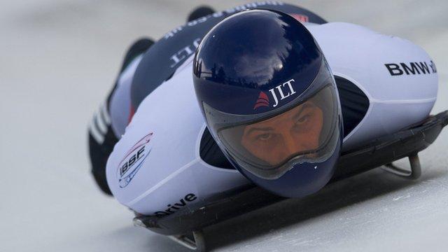 GB skeleton athlete Dominic Parsons