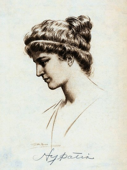 Retrato de Hipatia
