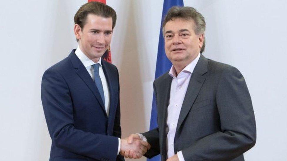 Sebastian Kurz'un Yeşiller Partisi lideri Werner Kogler ile koalisyon görüşmeleri Çarşamba günü geç saatlerde sonuçlandı