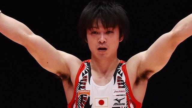 Japan's Kohei Uchimura