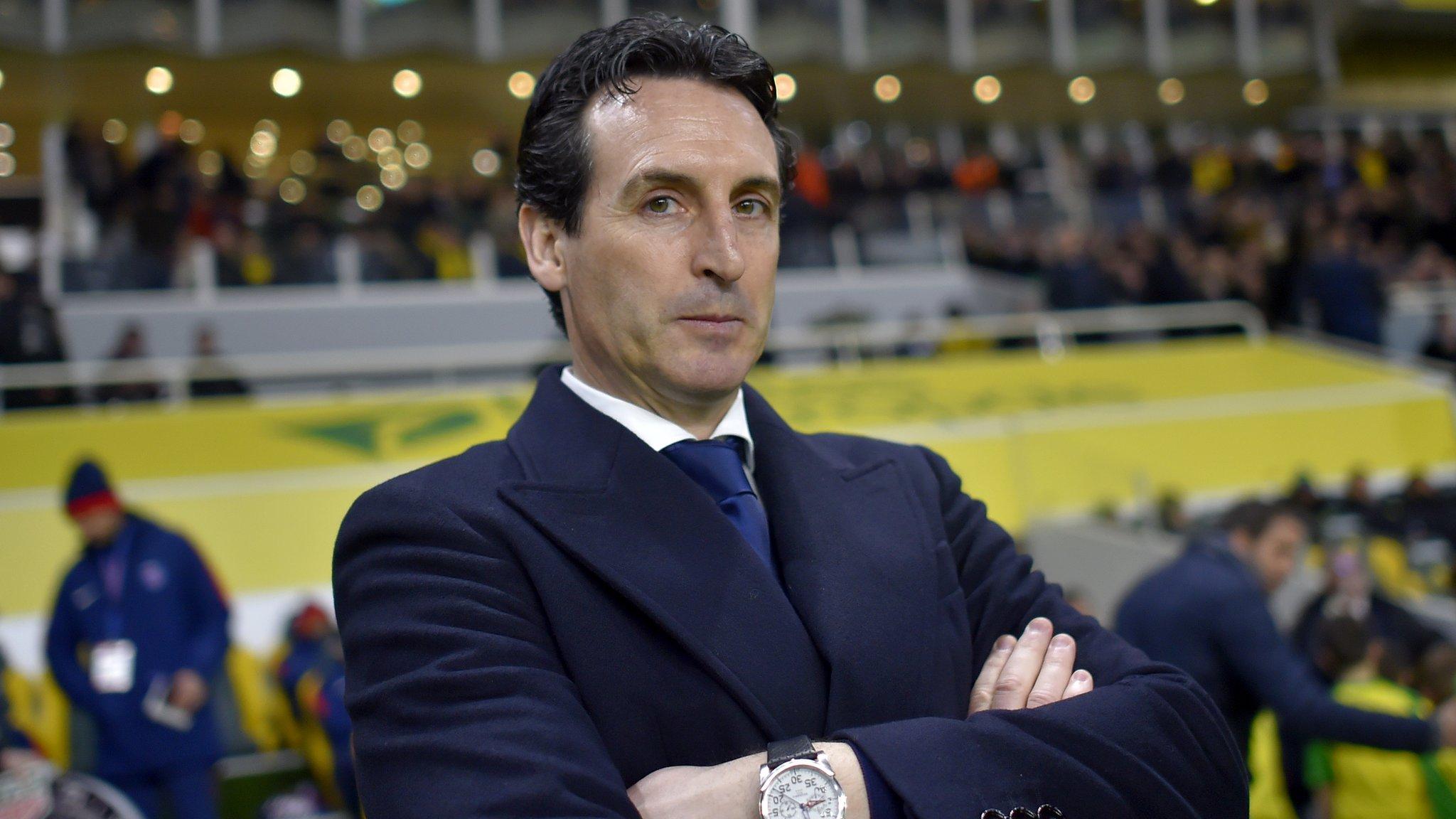 Unai Emery: Arsenal name former PSG boss as successor to Arsene Wenger