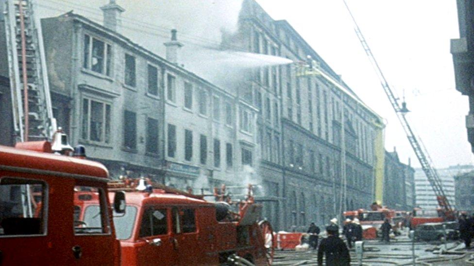 James Watt Street blaze: How 22 died in Glasgow 50 years ago