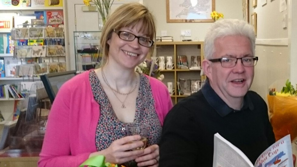 Kate Claughan and Ian McMillan