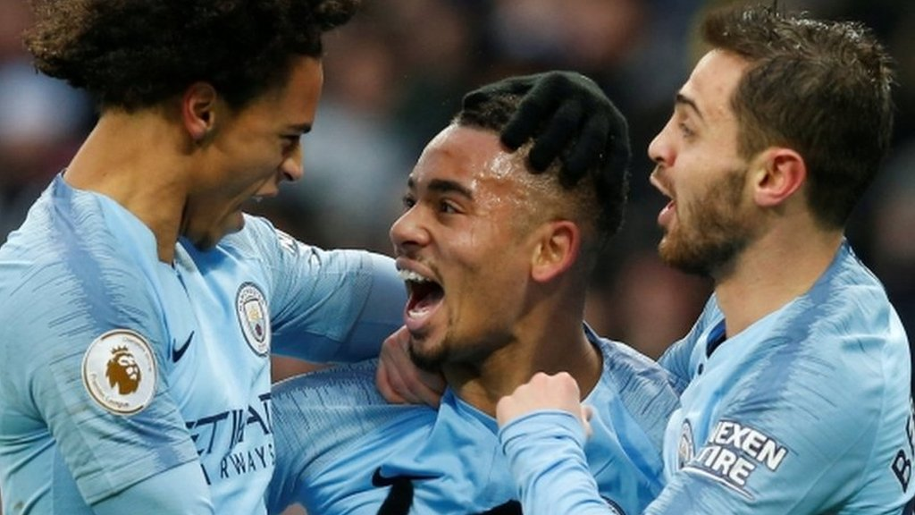 Jesus & Sterling send Man City back to the top