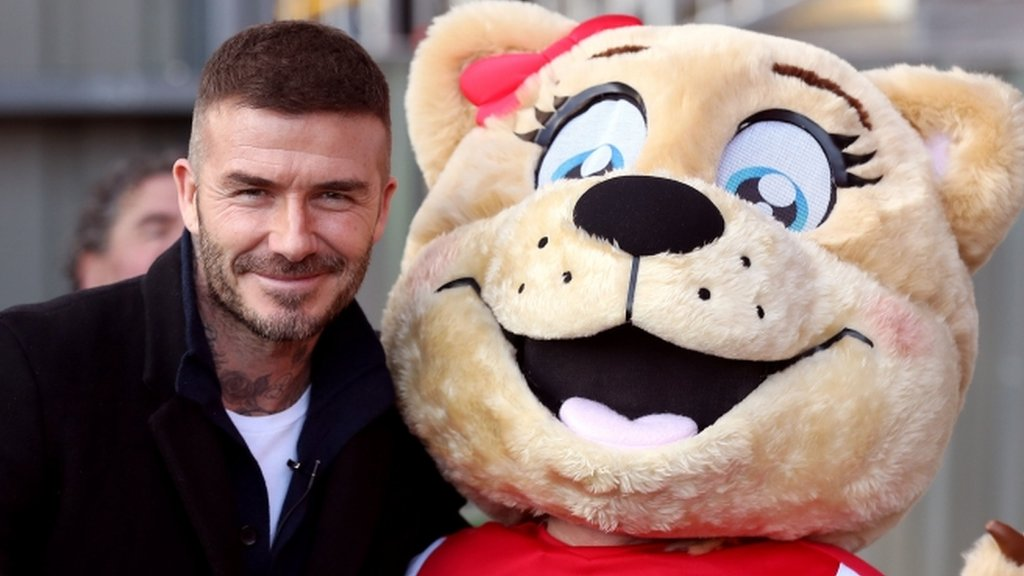 David Beckham: New Salford City co-owner watches non-league match against Dover Athletic