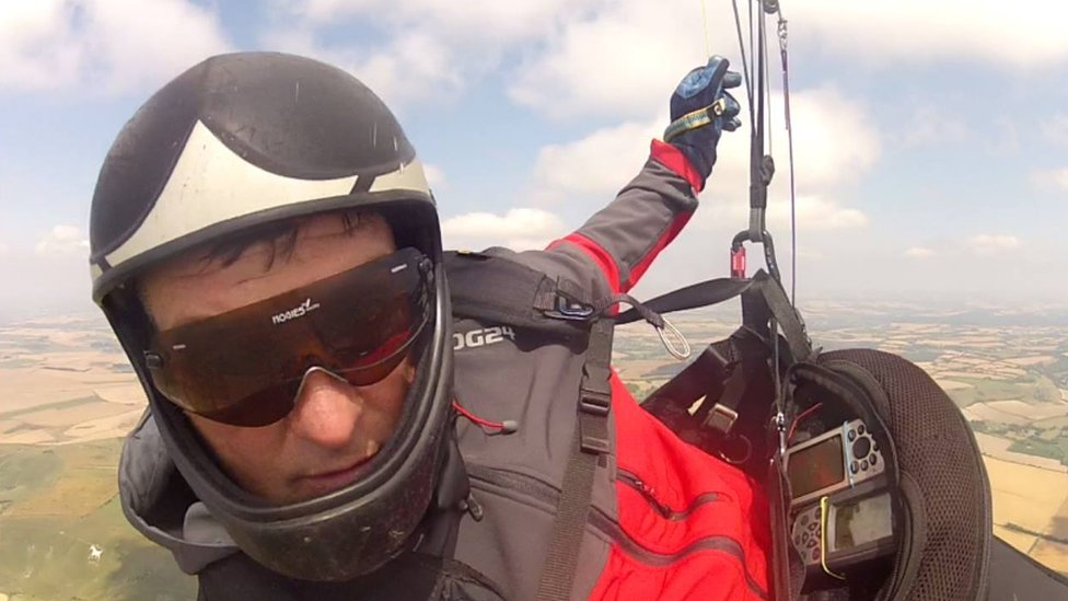 'Hero' British paraglider killed in Macedonia mid-air crash