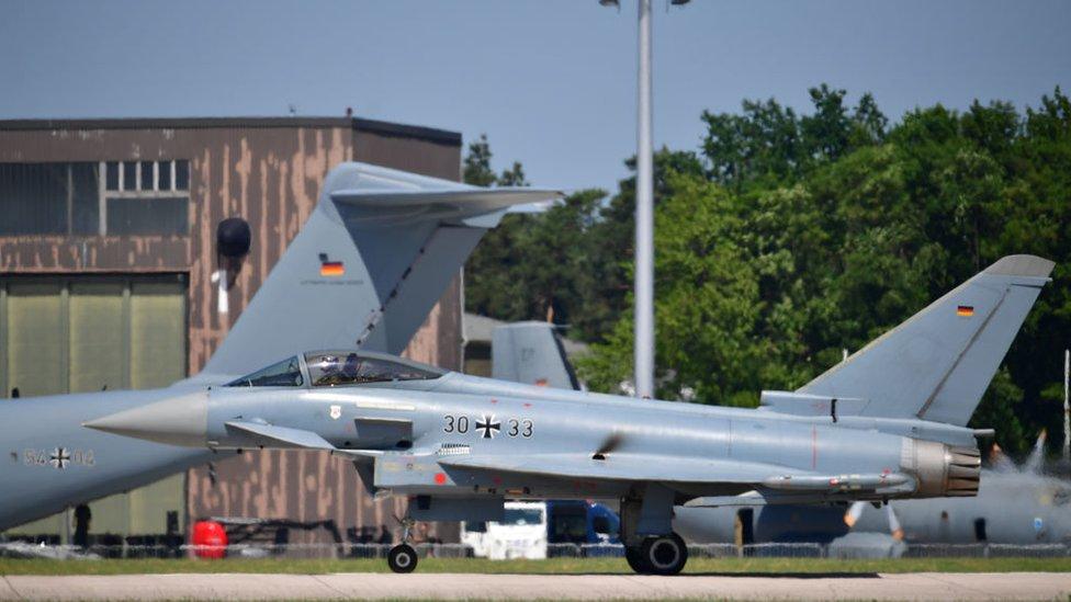 Jet de la Bundeswehr.