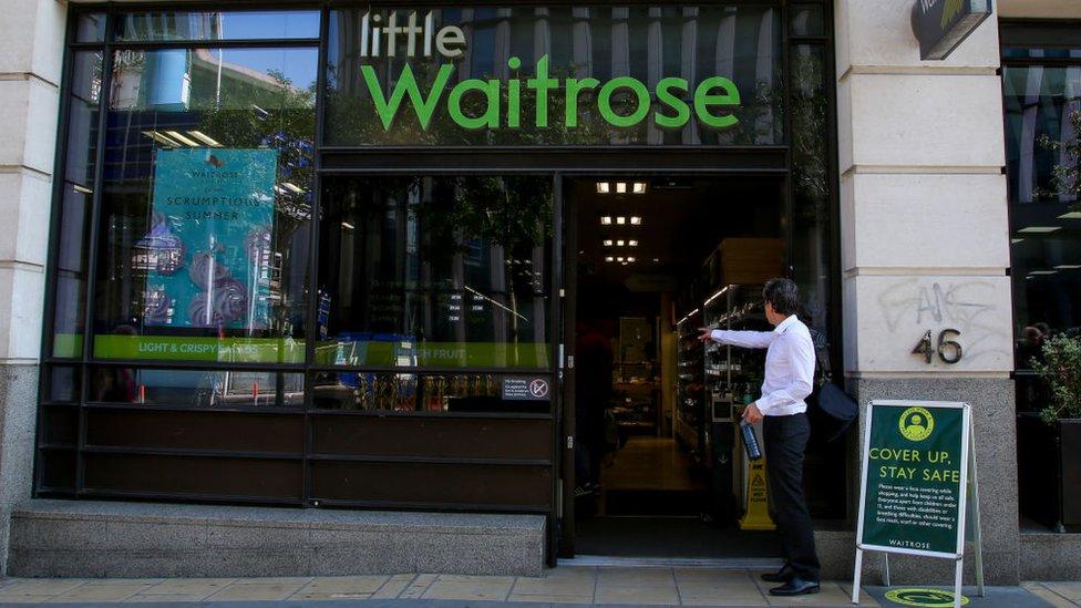 Little Waitrose storefront