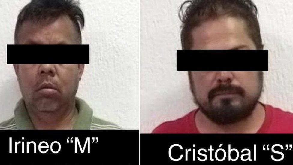 Irineo Mújica y Cristóbal Sánchez