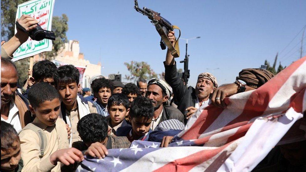 استنكرت جماعة الحوثي اليمنية قرار إدارة ترامب تصنيفها جماعة إرهابية عالمية