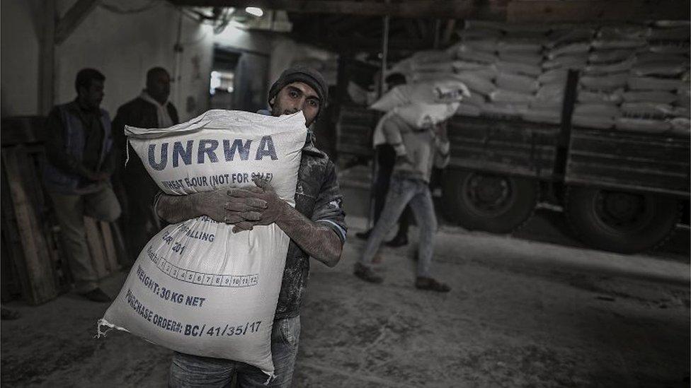 BM'nin Gazze'deki gıda merkezi