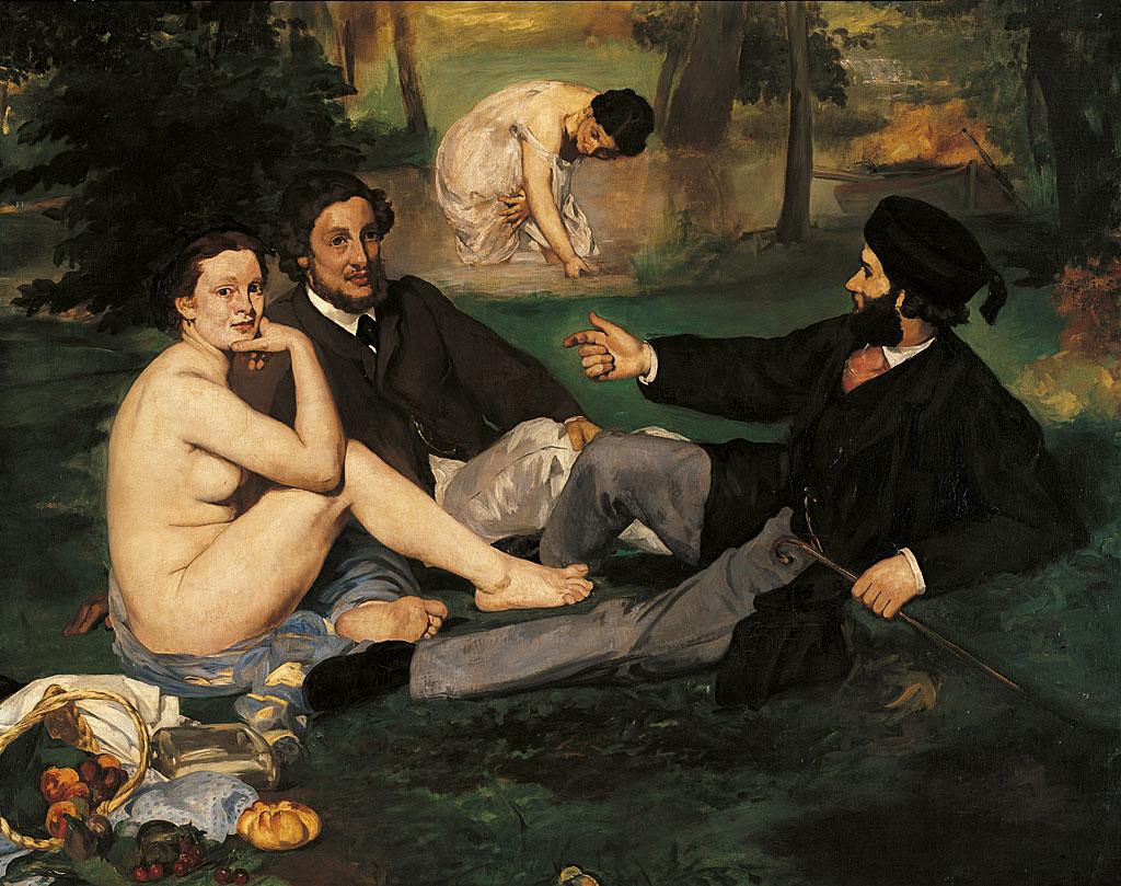 Édouard Manet - Le Déjeuner sur l'herbe (1863)
