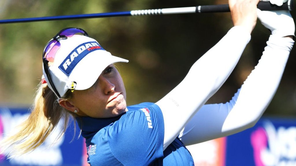 Women's Australian Open: Jodi Ewart Shadoff four shots off lead in Adelaide