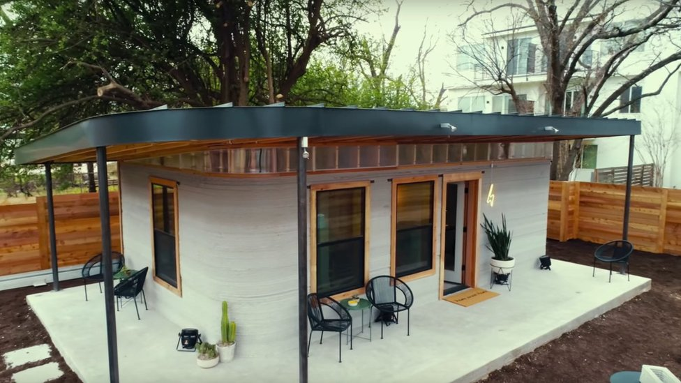 The home took around 48 hours to build, at a cost of $10,000