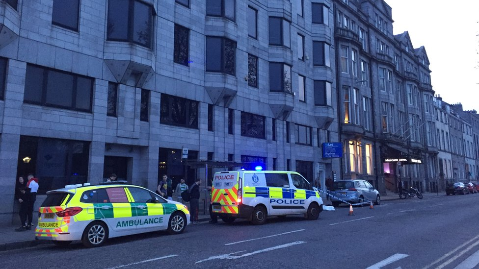 Three people charged over Aberdeen assault on man and woman