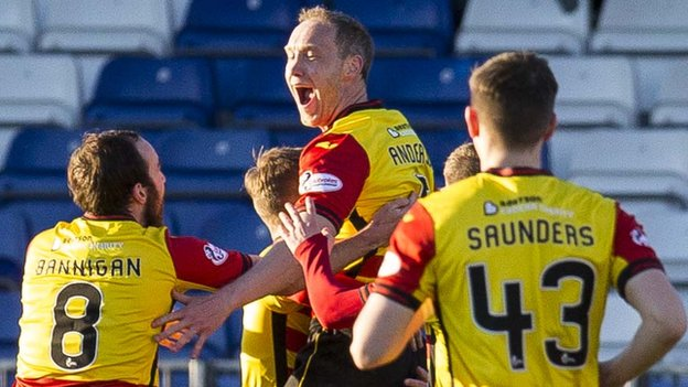 Inverness CT 1-2 Partick Thistle: Visitors earn first away win of season