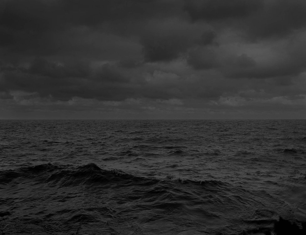 Bey-Untitled #25 (Lake Erie and Sky) by Dawoud Bey