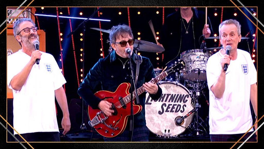 Sports Personality of the Year 2018: Three Lions performed by The Lightning Seeds, David Baddiel and Frank Skinner