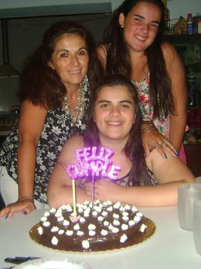Chiara, Romina y Verónica.
