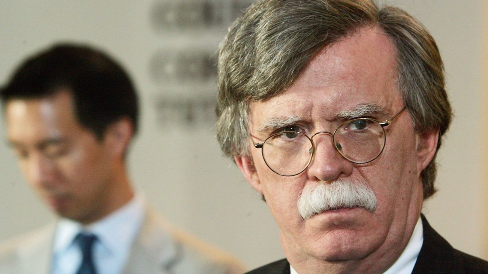 John Bolton, former US Ambassador to the United Nations