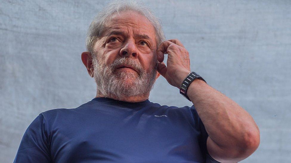 El expresidente Luiz Inacio Lula da Silva.