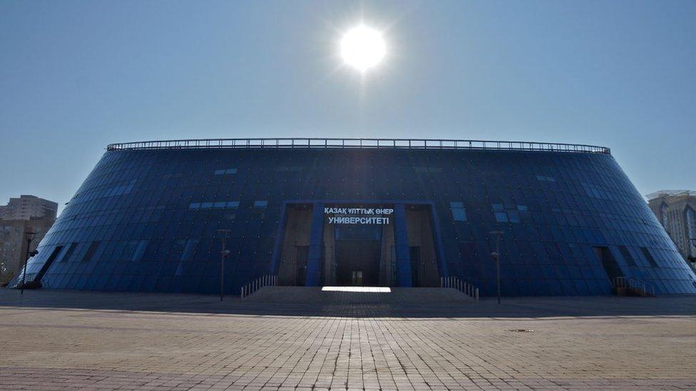Astana, capital de Kazajstán