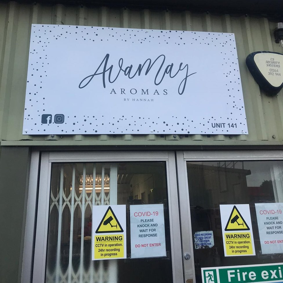 Ava May Aromas building