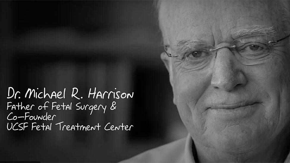 Imagen de la biografía de Michael Harrison en el sitio de la UCSF.