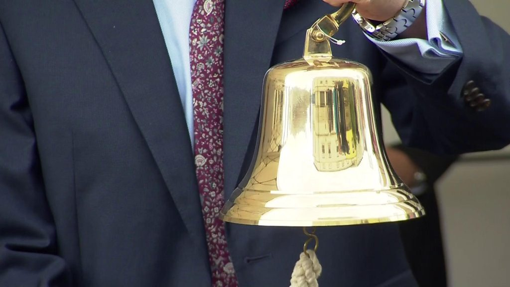 Bell tolls to commemorate Omagh bomb anniversary