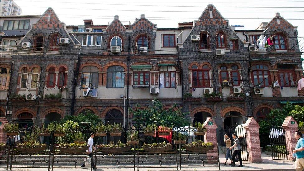 霍山路和舟山路周圍地區是上海猶太社區的支柱。(Credit: ullstein bild/Getty Images)