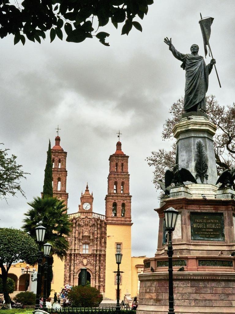 La parroquia de Dolores Hidalgo
