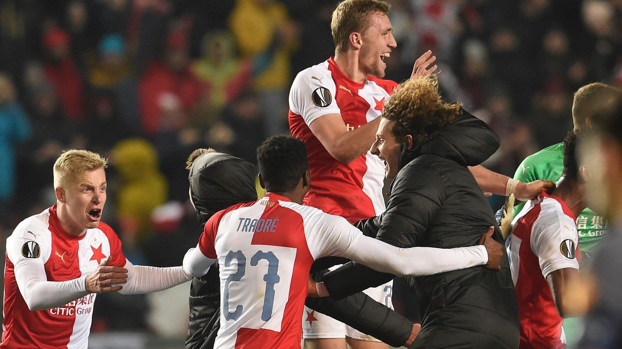 Slavie: Europa League Quarter-final Draw: Arsenal Face Napoli