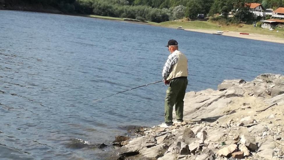 Vladimir Sivački i dalje uživa u pecanju