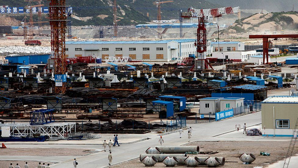 محطة تايشان النووية في الصين
